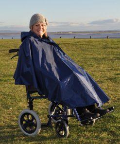 Splash Deluxe Wheelchair Poncho (Lined) - U