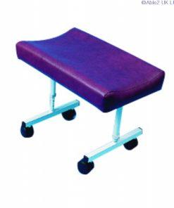 Contoured legrest - mobile