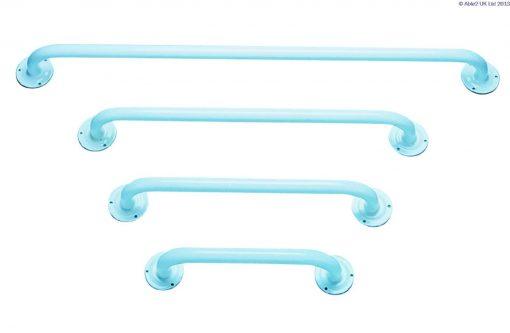 "Plastic Coated Steel Grab Bar 610mm (24"")"