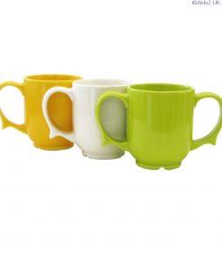Dignity - 2 Handled Mug white