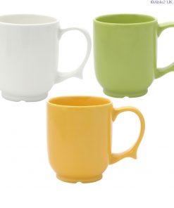 Dignity - 1 Handled Mug white