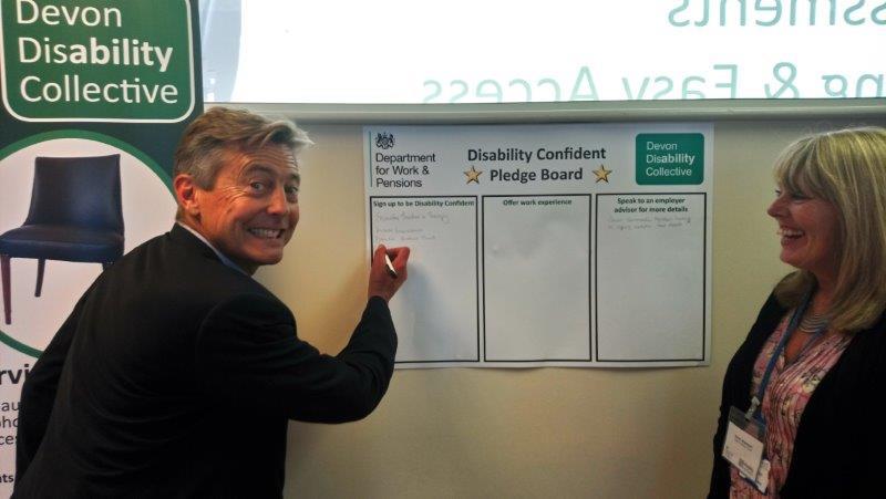 Ben Bradshaw Disability Confident