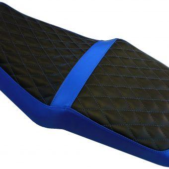 Blue Black Bike Seat 2
