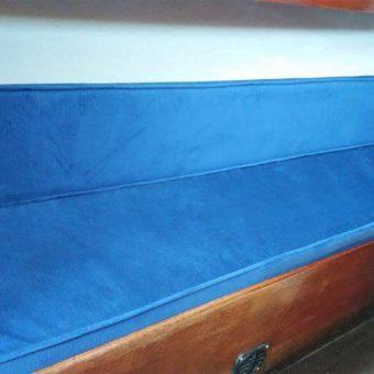 Nicholson 26 boat reupholstery Devon Disability (2)