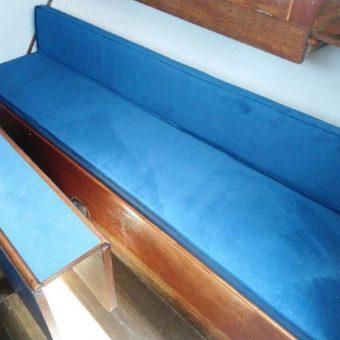 Nicholson 26 boat reupholstery Devon Disability (5)