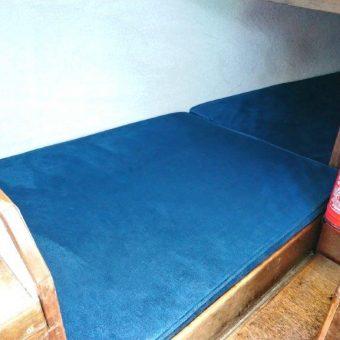 Nicholson 26 boat reupholstery Devon Disability (8)
